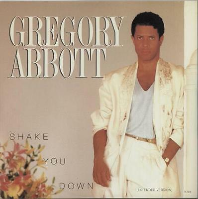 """Gregory Abbott Shake You Down (Extended ... 12""""  record (Maxi) UK"""