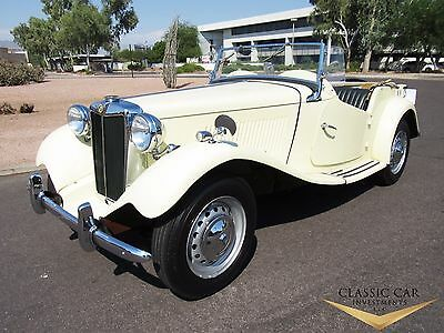 1952 MG T-Series TD 1952 MG TD Roadster - Beautifully Restored - Rust Free Car - Must See!