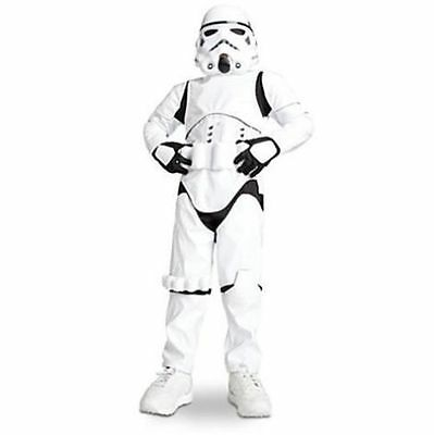 Disney Store Official Stormtrooper Size 4 Costume for Kids - Star Wars Brand New