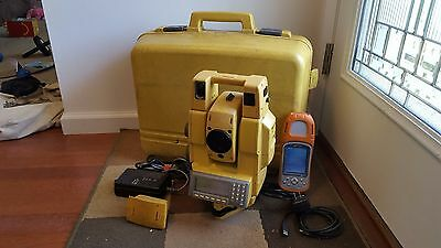 Topcon total Station GTS-802A Just Calibrated With Data Collector (Robotic)