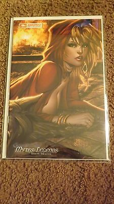 Grimm Fairy Tales Myths & Legends #1 Debalfo Cover Arizona Con 2010 NM