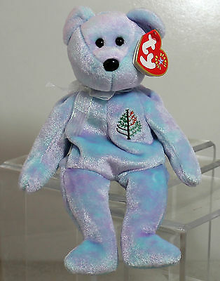 Ty Beanie Baby Issy Caracas - MWMT (Bear 4 seasons collection)
