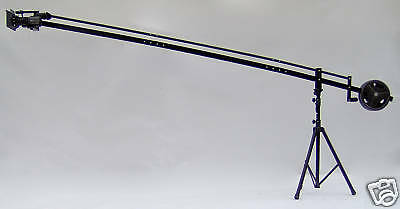 12 ft. Video Camera Crane Jib with STAND and Motorized Pan/Tilt Head