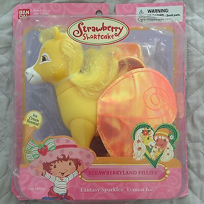 Strawberry Shortcake Bandai - Fantasy Sparkles LEMON ICE FILLY - RARE