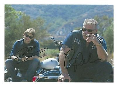 SONS OF ANARCHY Autograph RP HQ Glossy  Fridge Magnet 09