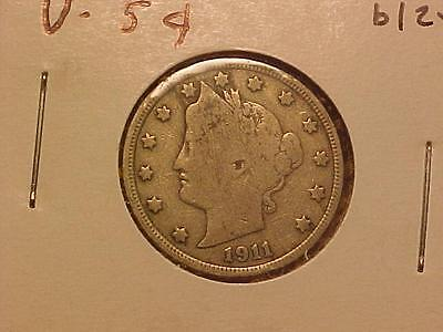 1911 LIBERTY (V) NICKEL GOOD   bl24