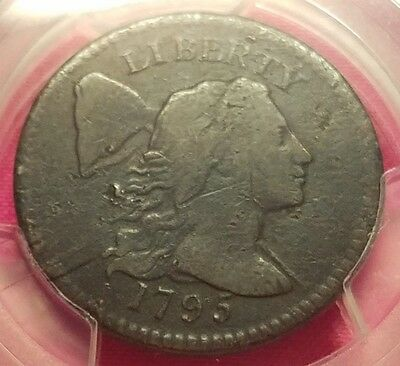 1795 Liberty Cap United States Large Cent - PCGS VG Details - S 78 - Clean!