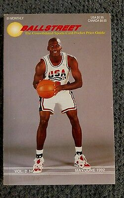 Ballstreet price guide  May/June 1992 featuring the USA DREAM BASKETBALL TEAM