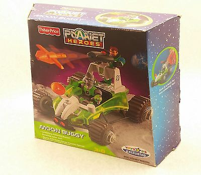 """NEW 2007 Earth Ace 12.5"""" Moon Buggy Car Planet Heroes Action Figure Vehicle"""