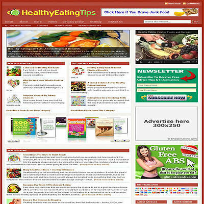 Established 'DIETING' Affiliate Website Turnkey Business For Sale (FREE HOSTING)