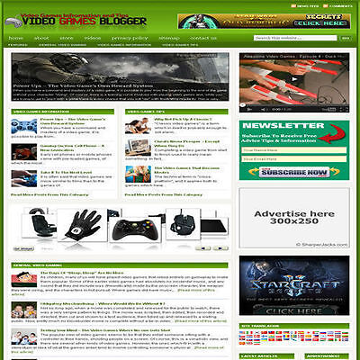 Established 'ARCADE' Affiliate Website Turnkey Business For Sale (FREE HOSTING)