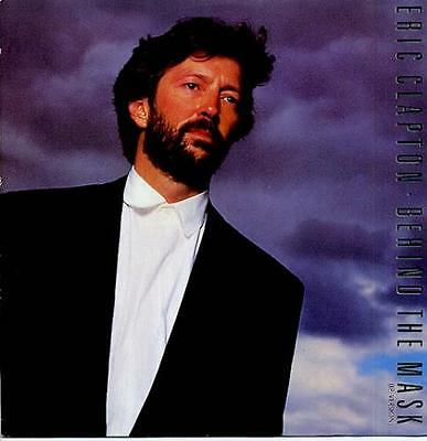 "Eric Clapton Behind The Mask 12"" vinyl single record (Maxi) UK W8461T WEA 1987"