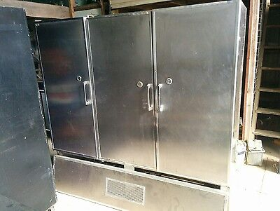 commercial fridge and  freezer's