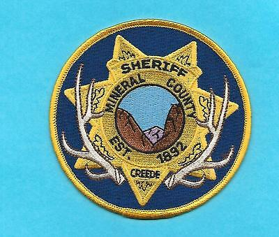 Colorado- New Style- Mineral County Sheriff- Crede,co - Antlers-Nice