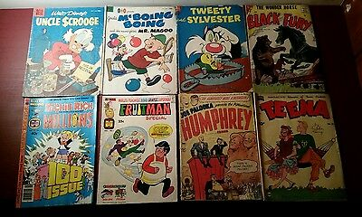 Lot of 8 Various Old Comics