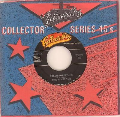 "Winstons 7"" vinyl single record Color Him Father USA COL.3314 COLLECTABLES"