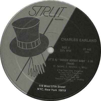 """Charles Earland (It's A) Doggie Boogie Baby 12"""" vinyl single record (Maxi) USA"""