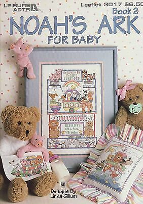 "CROSS STITCH BOOK - ""Noah's Ark for Baby"""