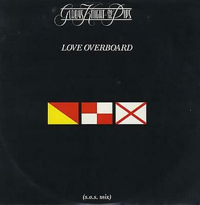 """Love Overboard Gladys Knight & The Pips 12"""" vinyl single record (Maxi) UK"""