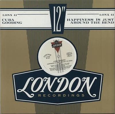 """Happiness Is Just Around Th... Cuba Gooding 12""""  record (Maxi) UK"""