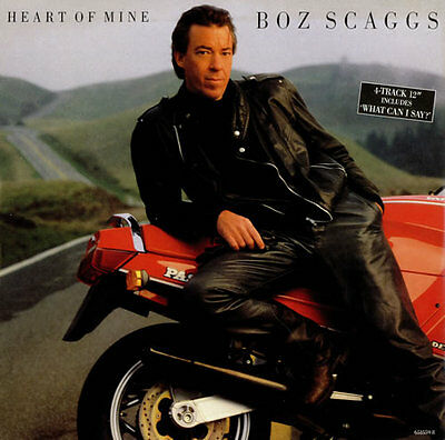 "Heart Of Mine Boz Scaggs UK 12"" vinyl single record (Maxi) 6515598 CBS 1988"