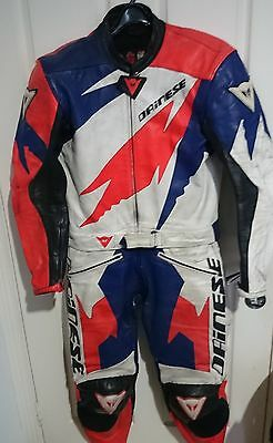 Dainese Rock two piece leather suit EUR 50