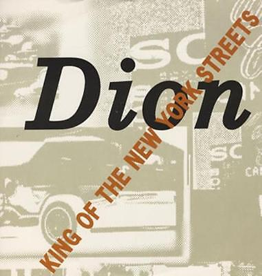 "King Of The New York Streets Dion 12"" vinyl single record (Maxi) UK 612556"