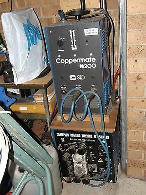 200 Amp Arc Welder Unit, Arc, Mig, Tig and Spot Welding, plus extras.