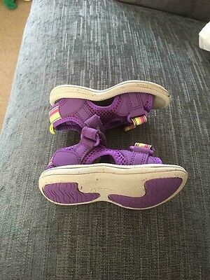 girls clarks shoes size 4 Sandals