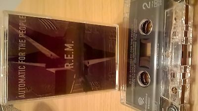 Rem Automatic For The People Rare Cassette Tape Ex Condition