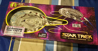 "Star Trek Starship Legends USS Enterprise NCC-1701-E Art Asylum 18"" Starship"