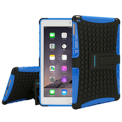 Kids Shockproof Heavy Duty Back Case Cover For Apple ipad 2/3/4 new blue