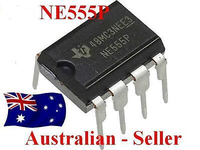 555 Timer IC -  TEXAS   INSTRUMENTS x 5, 10 or 20Pcs