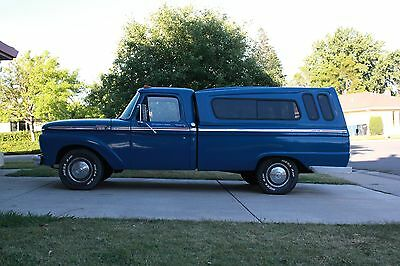 1964 Ford F-100 Custom Cab 1964 f100 Custom Cab Longbed 3 speed Column Shift CALIFORNIA VEHICLE