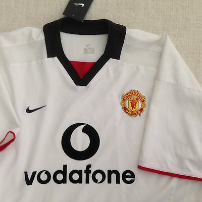Manchester United Nike Official Away Team White Men Jersey New