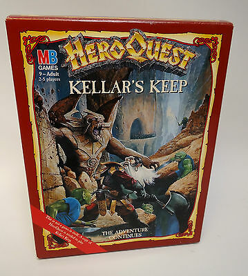 Hero Quest Kellar's Keep Expansion Pack c1989