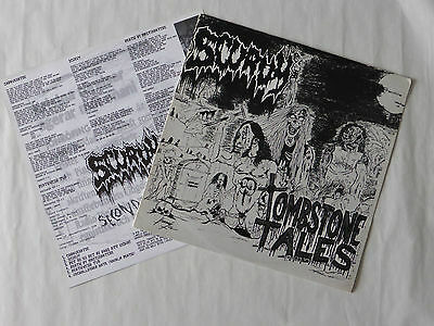 SCURVY TOMBSTONE TALES/SECOND EJACULATION Lp Germany 2002 ☞ NEW & OUT OF PRINT ☜