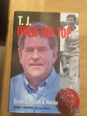 T.J - Over The Top - Terry Jenner - Published In Australia - 1St Edition  1999