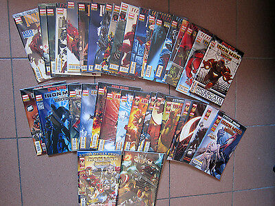 Iron Man e i Potenti Vendicatori sequenza completa + variant 1 - 35 Marvel Itali