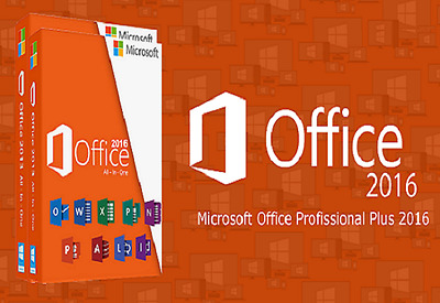 Microsoft Office Professional Plus 2016 Download Version&PC Key Card