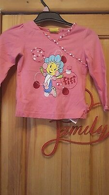 girls long sleeved fifi top size 2/3 years