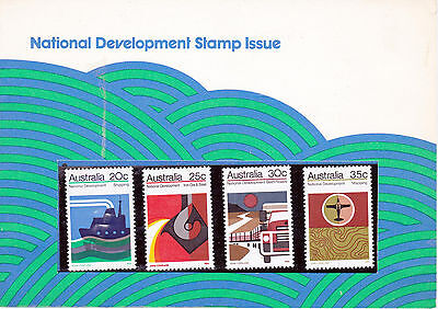 Australia - 1973 National Development - Un-mounted mint set