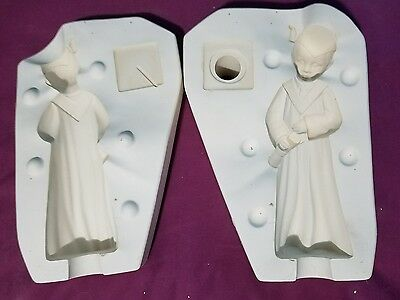Clay Magic Molds - J1342 - Boy Graduate Ceramic Mold
