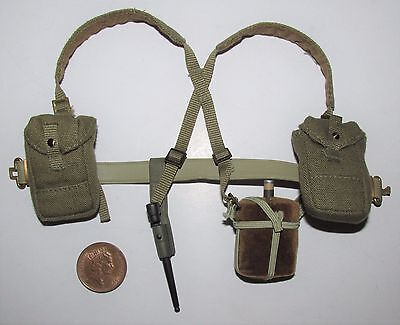Dragon/BBI 1/6th Scale WW2/WWII British Army Webbing & Backpack (E)
