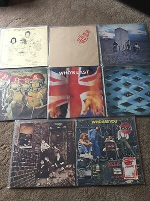 The Who Vinyl LP Records Bundle Tommy Live At Leeds Track