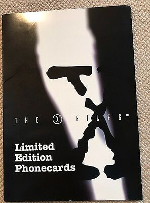 1996 Limited Edition Phone cards 'The X Files' series