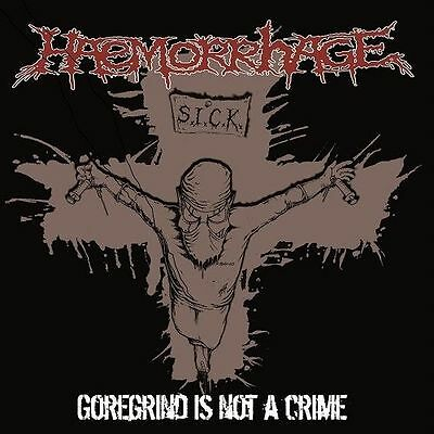 HAEMORRHAGE - Goregrind Is Not A Crime  [GREY Vinyl] LP