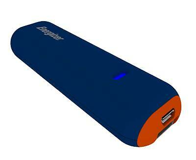 Energizer Portable Charger UE2507 2500mAh Blue and Orange