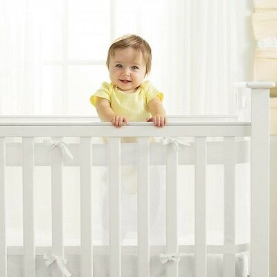 Breathable Baby AirflowBaby Airflow 2 And 4 Sided Cot / Cotbed Liner Bumper