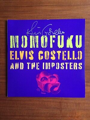 ELVIS COSTELLO Momofuku SIGNED AUTOGRAPHED Brand New Vinyl LP RARE Jenny Lewis